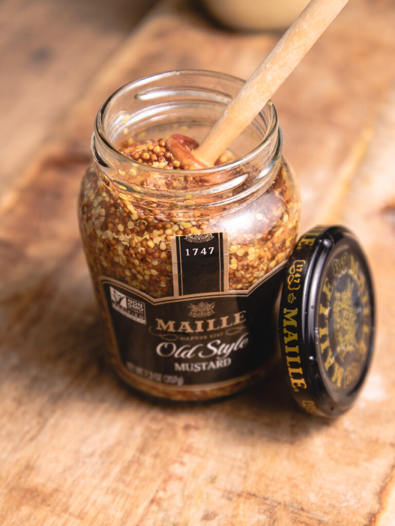jar of maille old syle mustard