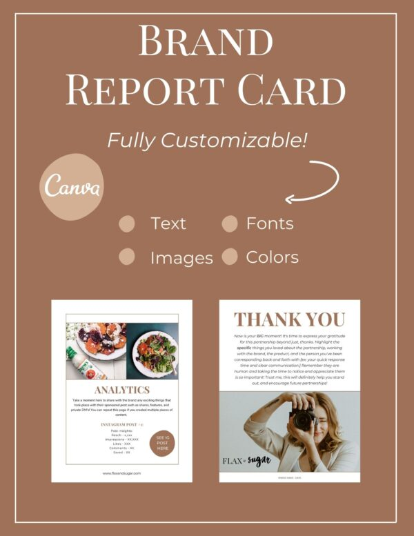 canva template for brands
