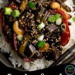 eggplant stir fry recipe