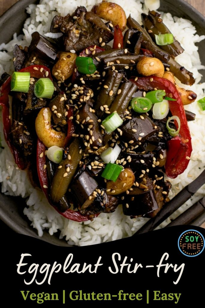close up of stir fry for a pin to promote on pinterest