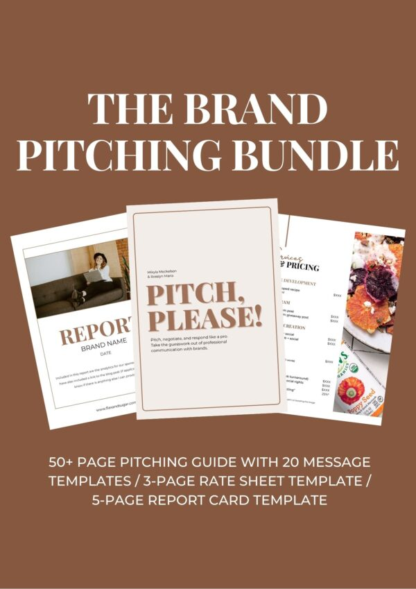 Brand pitching bundle